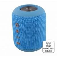 thumb-STREETZ  Spatwaterdichte stereo Bluetooth-luidspreker 2x5W, IPX5, TWS in zwart, blauw en oranje-6
