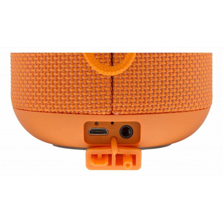 STREETZ  Spatwaterdichte stereo Bluetooth-luidspreker 2x5W, IPX5, TWS in zwart, blauw en oranje-9