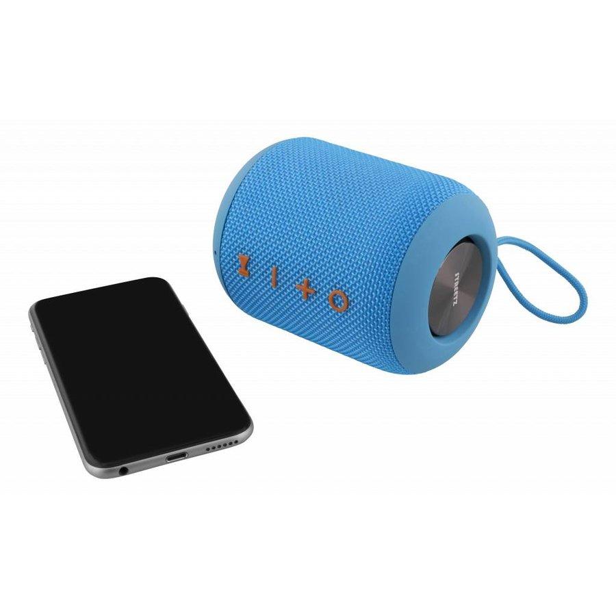 STREETZ  Water resistant stereo Bluetooth-luidspreker 2x5W, IPX5, TWS in black, blue and orange-8