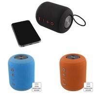 thumb-STREETZ  Spatwaterdichte stereo Bluetooth-luidspreker 2x5W, IPX5, TWS in zwart, blauw en oranje-2