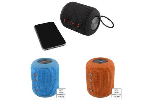 STREETZ  Spatwaterdichte stereo Bluetooth-luidspreker 2x5W, IPX5, TWS