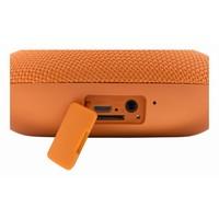 thumb-STREETZ  Water resistant flat Bluetooth-speaker 6W, IPX5, Micro-SD slot, TWS in black, blue and orange-9