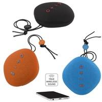 thumb-STREETZ  spatwaterdichte  Bluetooth-luidspreker 6W, IPX5, Micro-SD slot, TWS in zwart, blauw en oranje-2