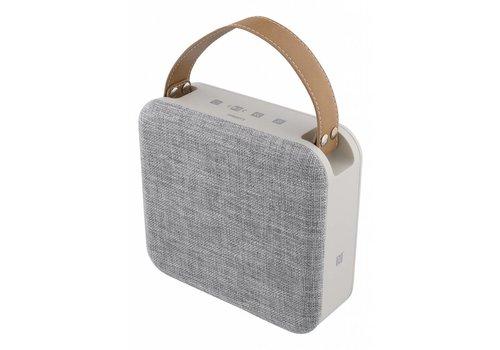 STREETZ Lichtgewicht spatwaterdichte stereo Bluetooth-luidspreker 15W, IPX5