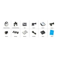 """thumb-Action camera A10 720p with 1.5 """" display 30m under water incl. 12 accessories-3"""