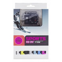 """thumb-Action camera A10 720p with 1.5 """" display 30m under water incl. 12 accessories-4"""