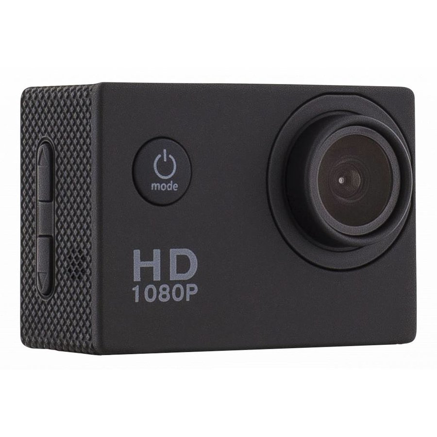 """Action camera A10 720p with 1.5 """" display 30m under water incl. 12 accessories-1"""