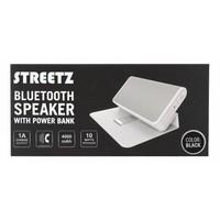 thumb-STREETZ Draadloze Bluetooth stereo speaker 10W met 4000 mAh powerbank en 3.5 mm mini-jack AUX in stijlvol hoesje/standaard met magneetsluiting zwart of wit-7