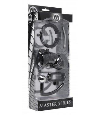 Master Series De Kuisheidskooi met Balklem en Anaalhaak