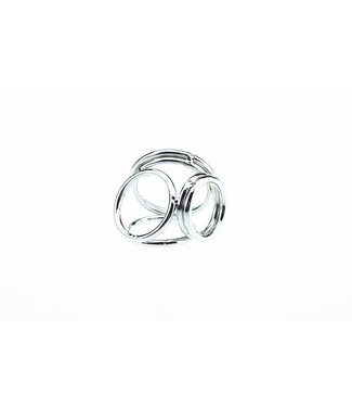 Perfect Lover Drievoudige Cock and Ball Ring M/L