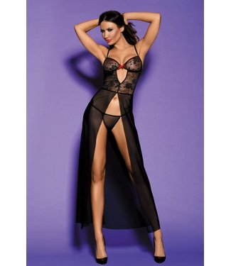 Sunspice Gown & thong Lingerie set (S/M)