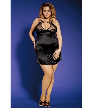 Sunspice Satin dress with matching G-string (L/XL)