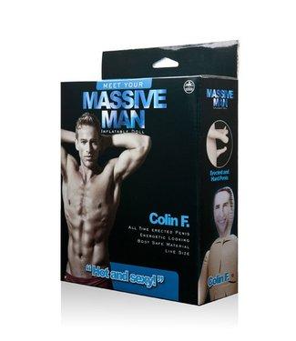 NMC Opblaaspop Massive Man Doll Colin F.