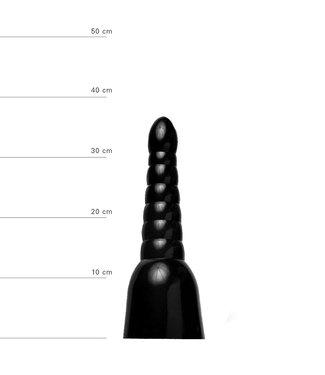 All Black Anaal Dildo 34 x 11cm