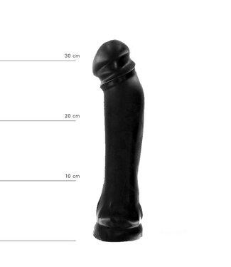All Black Dildo 37 x 7cm
