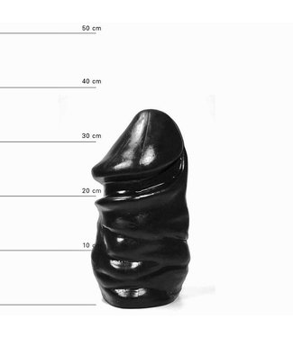 All Black Giant Dildo 32 x 16,5cm