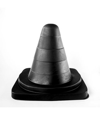 All Black Giant Butt Plug 19 x 10,5cm