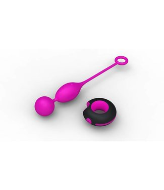 Only One Remote Control Double Egg - Pink
