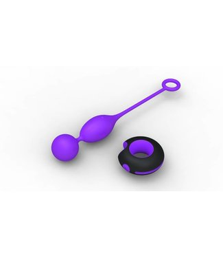 Only One Remote Control Double Egg - Purple