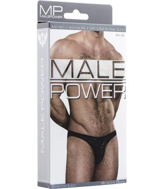 Male Power Wonder Bikini - XL (Black)