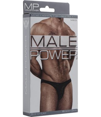 Male Power Wonder Bikini - M (Black)