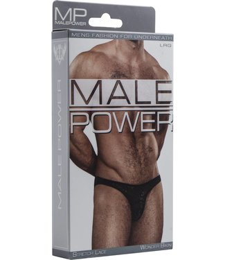 Male Power Wonder Bikini - L (Black)