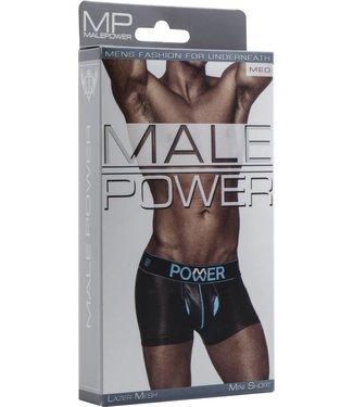Male Power Mini Short - M (Black)