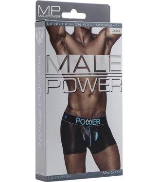 Male Power Mini Short - L (Black)