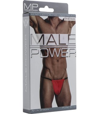Male Power Posing Strap - One Size (Red)