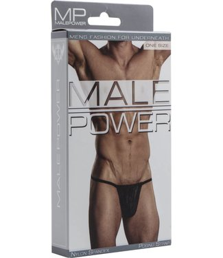 Male Power Posing Strap - One Size (Black)
