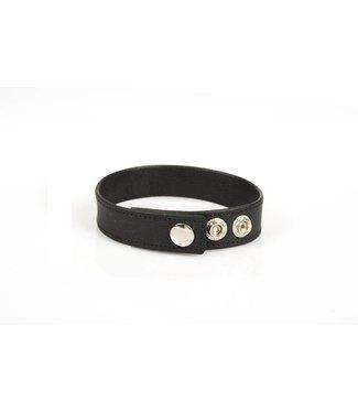 Kiotos Leder-Bizeps-Bänder - Schwarz