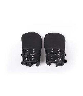 Kiotos Leather Faustfessel-Handschuhe