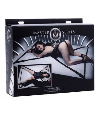 Master Series Interlace Bed Restraint Set