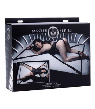 Master Series Interlace Bettfesselungsset