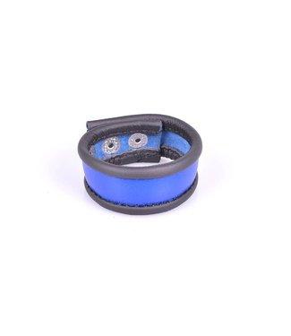 Kiotos Leather Cockstrap - Blau