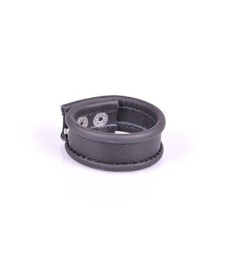 Kiotos Leather Cockstrap - Black