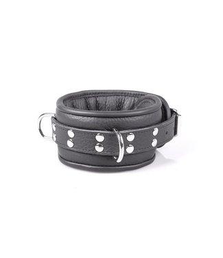 Kiotos Leather Professional Collar 7 cm - Black