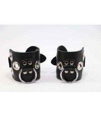Kiotos Leather Leder-Handfesseln