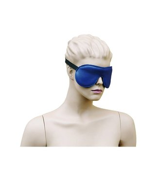 Kiotos Leather Blindfold Leather - Blue