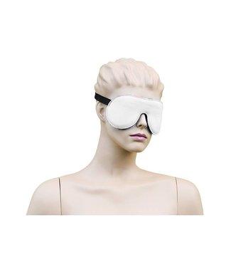 Kiotos Leather Blindfold Leather - White