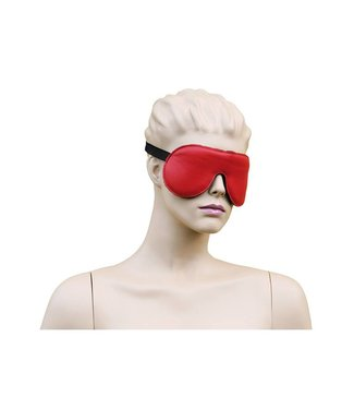 Kiotos Leather Blindfold Leather - Red