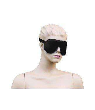 Kiotos Leather Augenbinde Leder - Schwarz