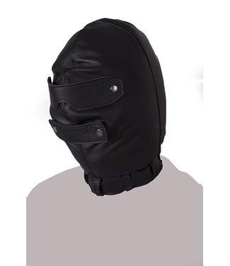 Kiotos Leather Total Blackout Mask