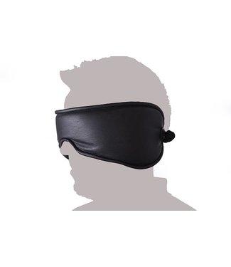 Kiotos Leather Blindoek Niet zien, Niet horen