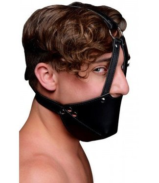 Strict Mouth Harness with Ball Gag