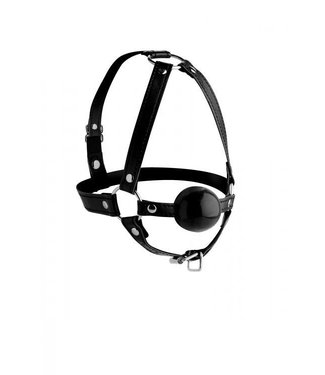 Strict Head Harness with 1.65 inch Ball Gag