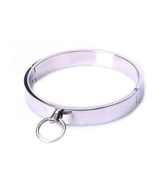 Kiotos Steel Stalen Halsband - Medium