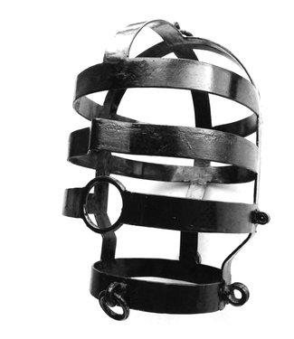 Kiotos Steel Kopfkäfig, groß, schwarz beschichtet