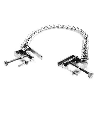 Kiotos Steel Nipple Clamps with Chain
