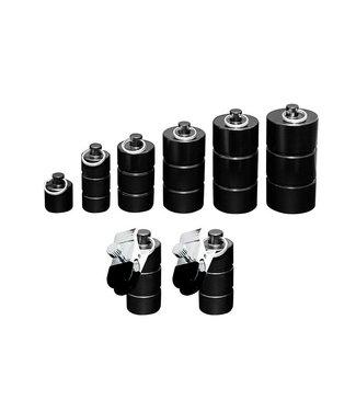 Kiotos Steel Nippelgewichts-Set - 50g